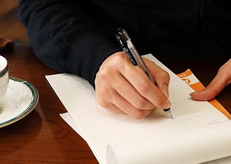 代筆屋の執筆技法